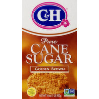 C&H C&H Pure Cane Sugar Golden Brown, 16 Ounce
