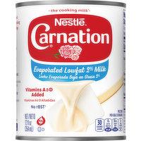 Carnation Evaporated Milk, Lowfat 2%, 12 Ounce