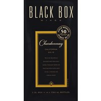 Rich and beautifully balanced with fresh fruit aromas. Excellent depth and structure with subtle hints of oak. A focused and complex finish. 1 - 3 L box = 4 X 750 ml bottles. 50 gold medals. Wine Enthusiast: 29 best buys. Since 2004. 4 bottles of award-winning wine in one elegant box. Stays fresh for six weeks after opening. 1/2 the carbon footprint of glass bottles. 29 Wine Enthusiast best buy awards. Award-winning Black Box Wines stand in the company of bottled wines that can cost up to twice as much. So raise a glass to exceptional quality and enjoy at considerable savings. Join us at Facebook.com/Blackboxwines. 13.5% alc. by vol. Packed by Black Box Wines, Madera CA.