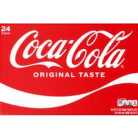 Coca-Cola Cola, Original Taste, 24 Pack, 24 Each