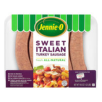 Jennie O Turkey Sausage, Sweet Italian, 19.5 Ounce