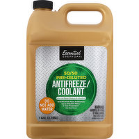 Essential Everyday Antifreeze/Coolant, 50/50, Pre - Diluted, 1 Gallon