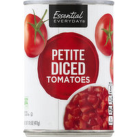 Essential Everyday Tomatoes, Petite, Diced, 14.5 Ounce