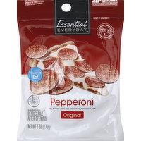 Essential Everyday Pepperoni, Original, 6 Ounce