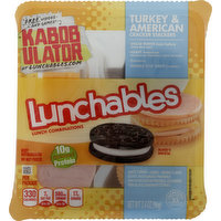 Lunchables Lunch Combinations, Turkey & American with Treat, 3.4 Ounce