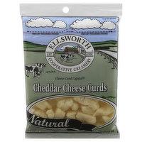 Ellsworth Cheese Curds, Cheddar, 16 Ounce
