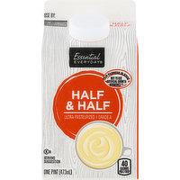Essential Everyday Half & Half, 1 Pint