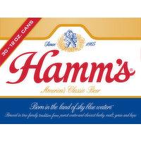 Hamms Beer, 30 Each
