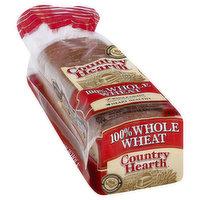 Country Hearth Big 100% Wheat Bread, 24 Ounce
