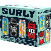 Surly Variety Pack Craft Beer, 144 Fluid ounce