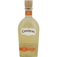 100% agave azul. 1761: founding family; Arandas, Mexico. TequilaCamareno.com. 40% alc. by vol. (80 proof). Produced and bottled by: Tequila Supremo, S.A DE C.V Rancho El Chiralejo Granja Sta. Maria De La Paz C.P. 47180 Arandas Jal., Mexico R.F.C TSU-970515-IBO. Product of Mexico.