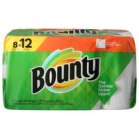 Bounty Paper Towels, Full Sheets, White, 2-Ply, 8 Each