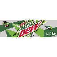 Mtn Dew Soda, Diet, 12 Each