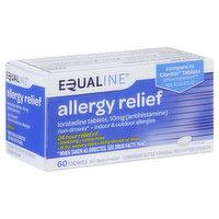 Equaline Allergy Relief, 10 mg, Original Prescription Strength, Tablets, 60 Each