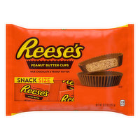 Reese's Peanut Butter Cups, Snack Size, 10.5 Ounce