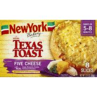 New York Bakery Texas Toast, The Original, Five Cheese, 8 Each
