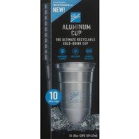 Ball Aluminum Cup, 20 Ounce, 10 Each