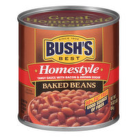 Bushs Best Baked Beans, Homestyle, 16 Ounce