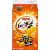 Goldfish Baked Snack Crackers, Xtra Cheddar, 30 Ounce