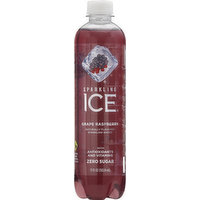 Sparkling Ice Sparkling Water, Grape Raspberry, 17 Ounce