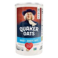 Quaker Oats Oats, 100% Whole Grain, Quick 1-Minute, 42 Ounce