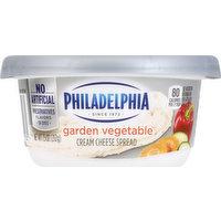 Philadelphia Cream Cheese Spread, Garden Vegetable, 7.5 Ounce