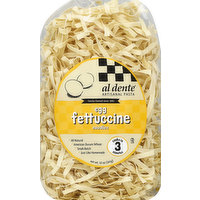Al Dente Fettuccine Noodles, Egg, 12 Ounce