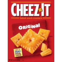 Cheez-It Baked Snack Crackers, Original, 12.4 Ounce