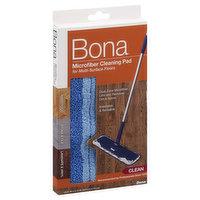 Bona Cleaning Pad, Microfiber, Clean, 1 Each
