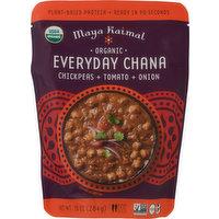 Maya Kaimal Everyday Chana, Organic, Chickpeas + Tomato + Onion, 10 Ounce