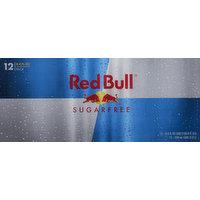 Red Bull Energy Drink, Sugarfree, 12 Pack, 12 Each