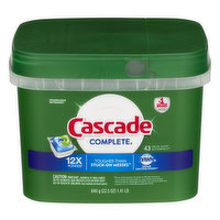 Cascade Cascade Complete Dishwasher Detergent Actionpacs with Dawn  Fresh Scent, 22.5 Ounce