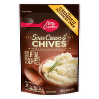 Betty Crocker Mashed Potatoes, Sour Cream & Chives, 4.7 Ounce