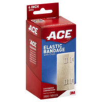 ACE Bandage, Elastic, with Clips, 1 Each