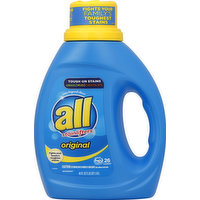 all Detergent, with Stainlifters, Original, 40 Ounce