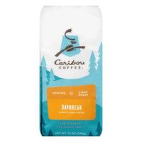 Caribou Coffee Coffee, Ground, Light Roast, Daybreak, 12 Ounce