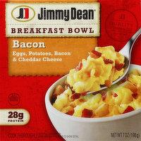 Jimmy Dean Breakfast Bowl, Bacon, 7 Ounce