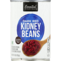 Essential Everyday Kidney Beans, Dark Red, 15 Ounce