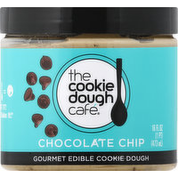 Cookie Dough Café Chocolate Chip, 18 Ounce