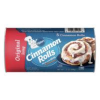 Pillsbury Cinnamon Rolls, Original Icing, 5 Each