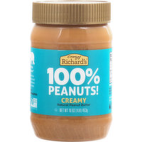 Crazy Richards Peanut Butter, Creamy, 16 Ounce