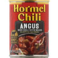 Hormel Chili, Angus, 14 Ounce