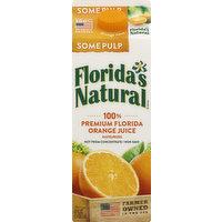 Florida's Natural Orange Juice, Some Pulp, 52 Ounce
