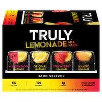 Truly Hard Seltzer, Lemonade, Mix Pack, 12 Each