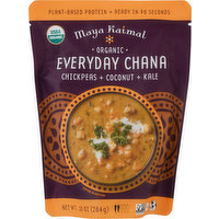Maya Kaimal Everyday Chana, Organic, Chickpeas + Coconut + Kale, 10 Ounce