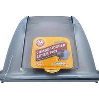 Arm & Hammer Litter Pan, Hooded, Jumbo, 1 Each