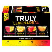 Truly Hard Seltzer, Lemonade Mix Pack, 12 Each