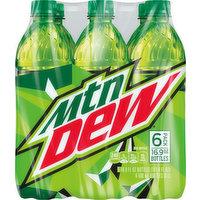 Mountain Dew Soda, 6 Pack, 6 Each