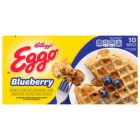 Eggo Waffles, Blueberry, 10 Each