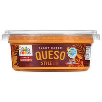 Good Foods Plant Based Queso Style Dip, 8 Ounce